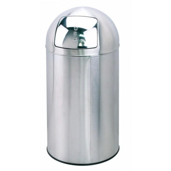 Afvalbak met Push-deksel