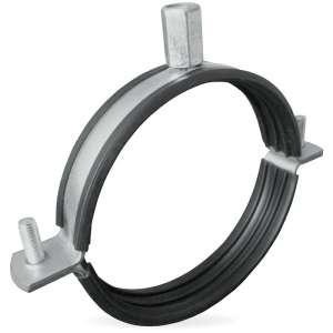 Ophangbeugel voor spirobuis Ø 200mm met rubber inlage