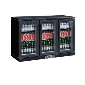 Polar gekoelde bardisplay zwart 273 flessen