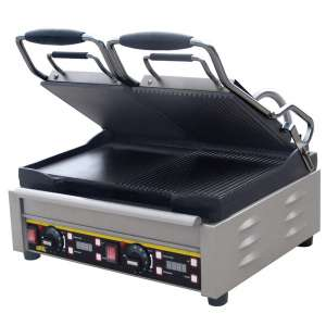 Contact Grill Buffalo L555 Dubbel