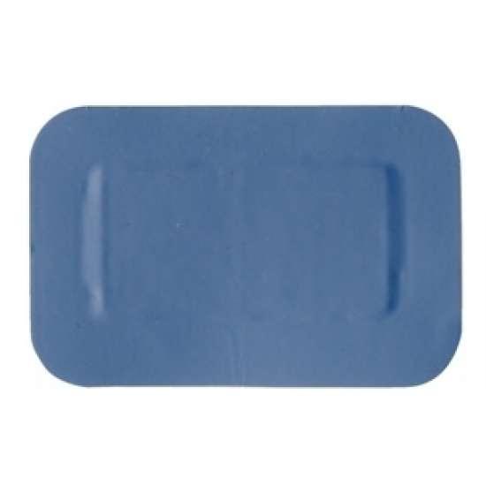 Blauwe patch pleisters