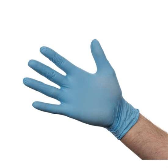 Nitril handschoenen blauw poedervrij