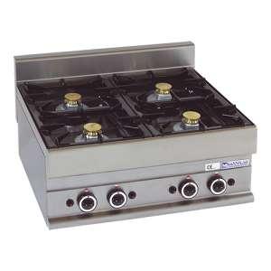 Kooktoestel Modular 650 Gas 4 Brander