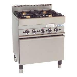 Gasfornuis Gas Oven 4 Branders
