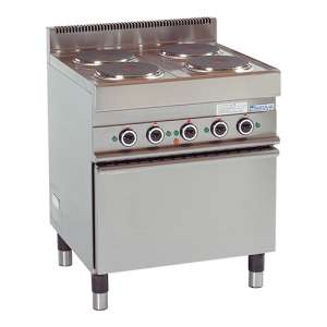 Electrische Heteluchtoven + 4 kookplaten