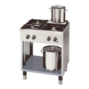 Kooktafel Modular 4-pits Gas
