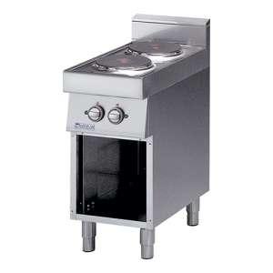 Kooktafel Modular 2-plaats elektrisch