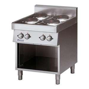 Kooktafel Modular 4-plaats elektrisch