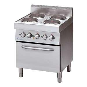 Kookplaat Modular 4-plaats fornuis + elektrische oven