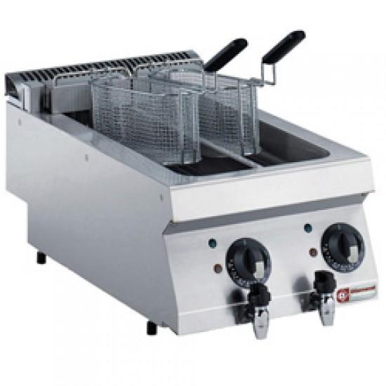 Elektrische Friteuse 2 x 5 Liter