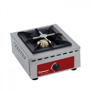 Brander, tafelmodel - 1 brander (7 kW)