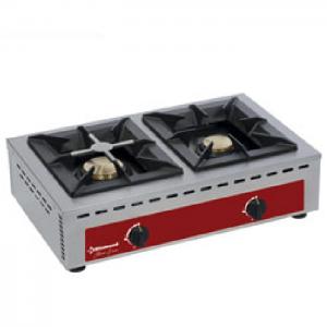 Brander, tafelmodel - 2 branders (7+5 kW)