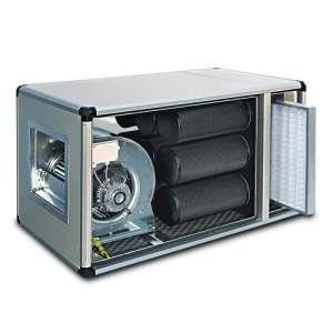 Geurfilterkast Compact met Motor 5000 M³