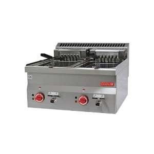 Gastro M 600 elektrische friteuse 2x 10ltr 60/60 FRE