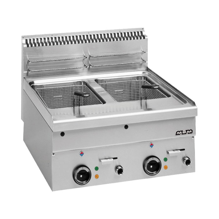 Friteuse electrisch tafelmodel dubbel - Friteuse sans huile professionnelle roller grill ...