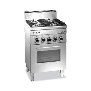 Vrijstaand Gaskookplaat met Gas Oven
