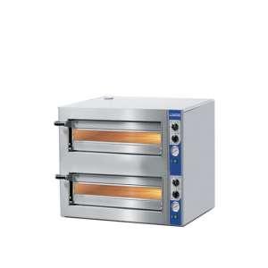 Pizzaoven elektrisch CUPPONE / MASTRO 4+4 (35cm)