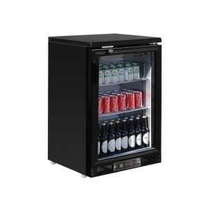 Polar 1-deurs gekoelde bardisplay zwart 104 flessen