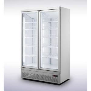 Koelkast met dubbele glazen deur - 1000 liter