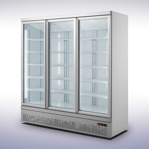 Koelkast met 3 glazen deuren - 1530 liter