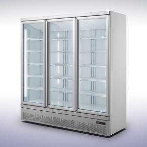Koelkast met 4 glazen deuren - 2025 liter