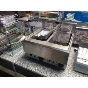 Elektrische Friteuse | Horeca Friteuse 2 x 14 liter