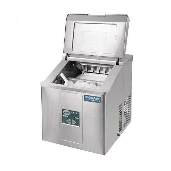 Polar tafelmodel ijsblokjesmachine 17kg output