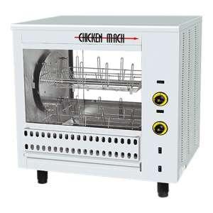 Kippengrill oven Capaciteit 16 stuks