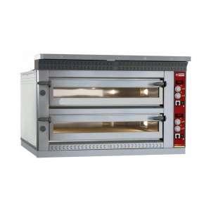 LD12/35-N Elektrische pizzaoven, 2x6 pizzas 350 mm
