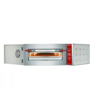 Elektrische oven hoekmodel, 1 kamer 8 pizza's Ø 350 mm