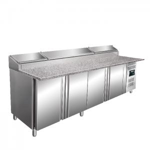 SARO Voorbereidingstafel, werkblad grantiet - 1/3 GN Model SH 2500