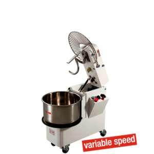 Spiraalkneder 33 liter met timer, kantelbare kop en variabele snelheid
