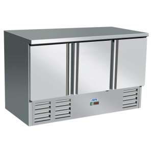 Gekoelde werkbank VIVIA S903 s/s Top