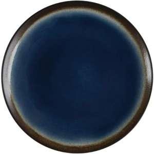 Olympia Nomi ronde tapascoupeborden blauw-zwart 19,8cm