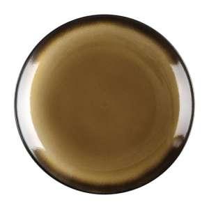 Olympia Nomi ronde tapascoupeborden geel-zwart 19,8cm