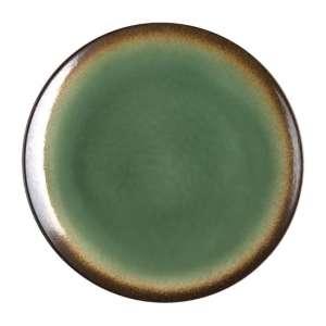Olympia Nomi ronde tapascoupeborden groen-zwart 19,8cm