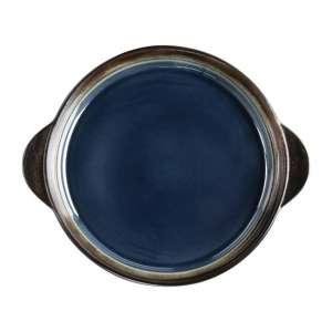 Olympia Nomi ronde tapasschalen blauw-zwart 19cm
