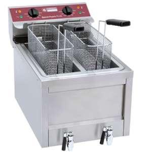 Electrische friteuse 2 x 8 Liter