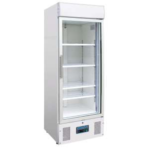 Polar display vriezer met lichtkoof 412ltr